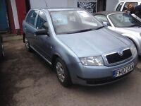 Skoda Fabia 1.4 2002 cheap car