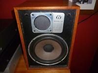 Pair of Wharfedale Denton speakers perfect working order.