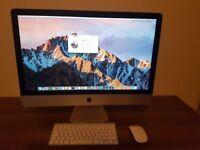 "Apple iMac 27"" Late 2013 Intel Core i5 3.4GHz 8GB 1TB Nvidia 1GB No Swaps or PayPal"