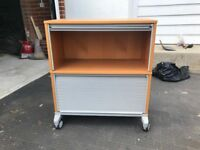 ROLL-TOP OFFICE STORAGE UNIT