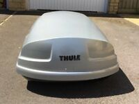 Thule Atlantis 200 Roof Box with Thule roof bars
