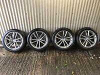 "Genuine 18"" BMW 5 Series M Sport G30 662 Staggered Alloy Wheels #2 - 5x112"