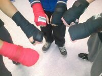 Free summer boxing activities for boys aged 13-19