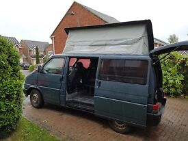 VW T4 Campervan 1.9 TDi, Dielsel, Manual, Pop Top, Heated Leather Captain Seats, Alloys - New Tyres.