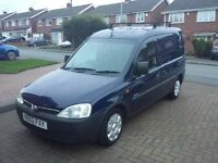 Vauxhall combo 1.7 dti 2002 for sale