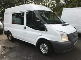 Ford transit welfare van 100.000 miles year mot engine service included
