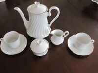 Bareuther Bavarian Coffee set for Two - Never used and in perfect condition !
