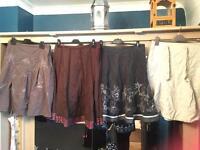 4 skirts size 14 next walis