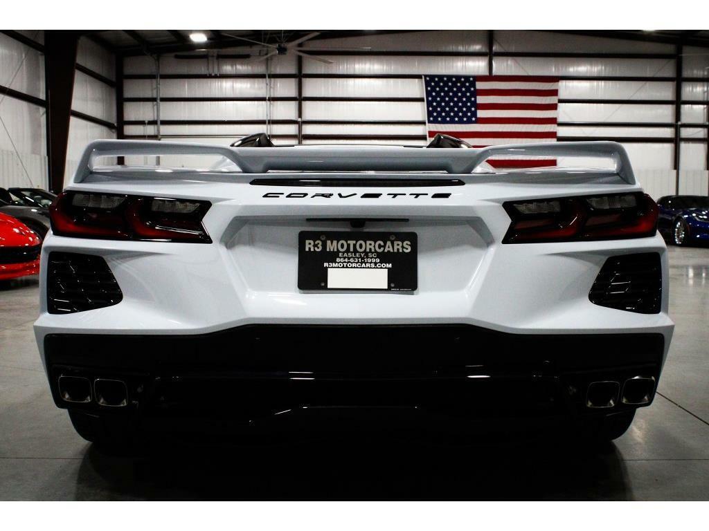 2020 Gray Chevrolet Corvette Convertible 3LT | C7 Corvette Photo 4