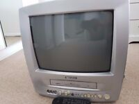 """Daewoo TV 14"""" with VCR and remote control"""