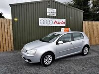 DECEMBER 2008 VOLKSWAGEN GOLF MATCH 1.9 TDI, SILVER, TIMING BELT KIT FITTED,**NOW SOLD**
