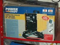 Powercraft Arc Welder 40-160 amps with 240 welding rods. Little used