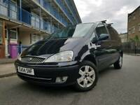 54 PLATE FORD GALAXY 1.9 TD 115 GHIA AUTOMATIC DIESEL 7 SEATER 1 YEAR NEW MOT LOW MILEAGE