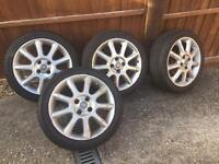Corsa C Alloy wheels