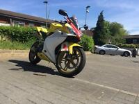 Yamaha Yzf R125 2011 with loads of xtras!