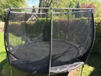 12ft Trampoline (Plum Products - Magnitude) and Enclosure