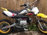 Kids 70cc pitbike semi auto £300