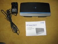 BT Home Hub 5 Wireless Router.