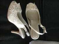 Wedding shoes wore once