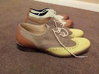 3 pairs of mens desighner shoes