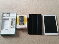 HUAWEI MediaPad T1 10(Sim free) + case + Travel Charger