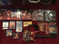 Ps2 ps3 psp ps1 pokemon gameboy guitar hero pirates of the Caribbean figure