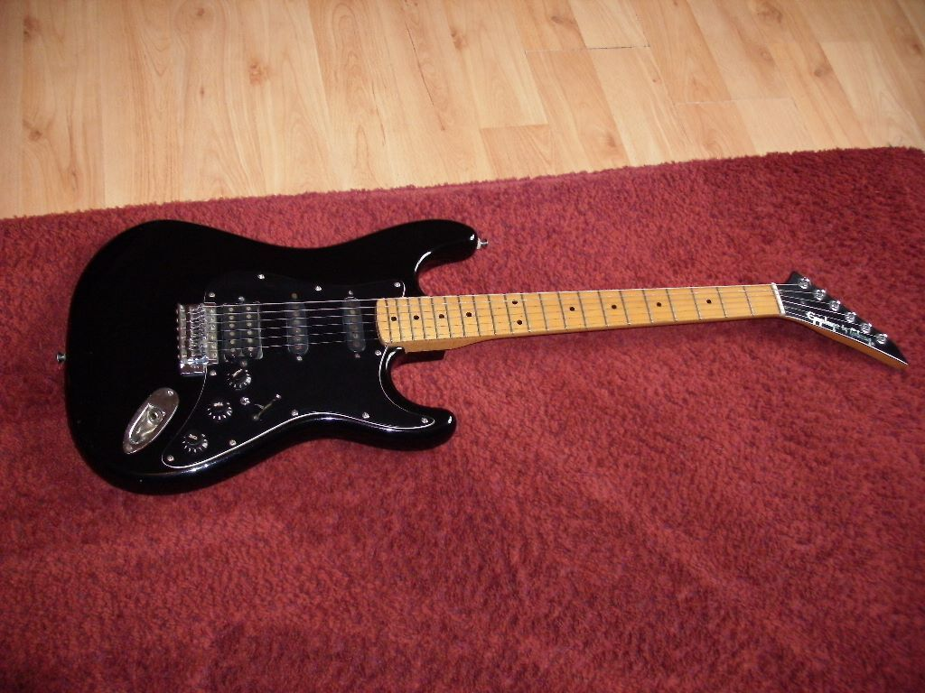 epiphone by gibson s series 1980s super strat modified electric guitar in earlsheaton west. Black Bedroom Furniture Sets. Home Design Ideas