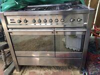 SMEG 100cm Dual Fuel Range Cooker
