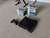Xbox 360 S with 24 games bundle (see ad and pictures)
