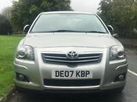 TOYOTA AVENSIS 2.2 D-CAT LOW MILES 58K WITH FULL TOYOTA SERVICE HISTORY FULLY LOADED HPI CLEAR