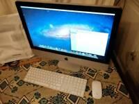 "Apple imac desktop 21.5"" screen Intel i5, 500gb - 4GB RAM. Very fast"