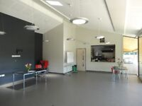 Community Room for classes, parties, indoor sports sessions