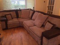 Corner sofa ~ OFFERS WELCOME
