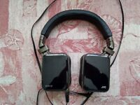 JVC Esnsy HA-SR85 over ear headphones. Black