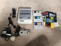 SNES Super Nintendo inc 3 games