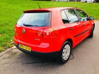 VOLKSWAGEN GOLF 1.6 FSI S 57 PLATE ONLY 69000 MILES 2 OWNER MINT CONDITION