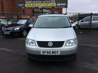 Volkswagen Touran 1.9 TDI S 5dr (5 Seats) ONE FORMER KEEPER SINCE 2006,