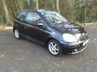 TOYOTA YARIS 1.5 T SPORT VVT I 2004/54, 87,000 MILES, TWO PREVIOUS OWNERS. MOT MARCH 2018.