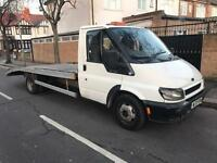 2003 FORD TRANSIT 350 5 SPEED MANUAL DIESEL RECOVERY TRUCK