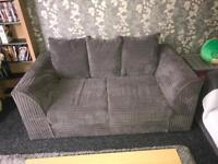 2 2 Seater sofas - grey