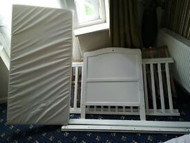 Baby Cot For Up To 7 Years Old For Sale