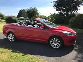 Ford Focus convertible CC3 Red 58 plate 60k miles excellent cond