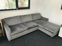 Willow Hall Bermerton Chaise Storage Sofa Bed In Excellent Condition 5 Seater