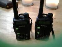 Baofeng uv5r walkie talkies