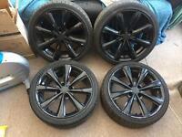 Toora black alloy wheels