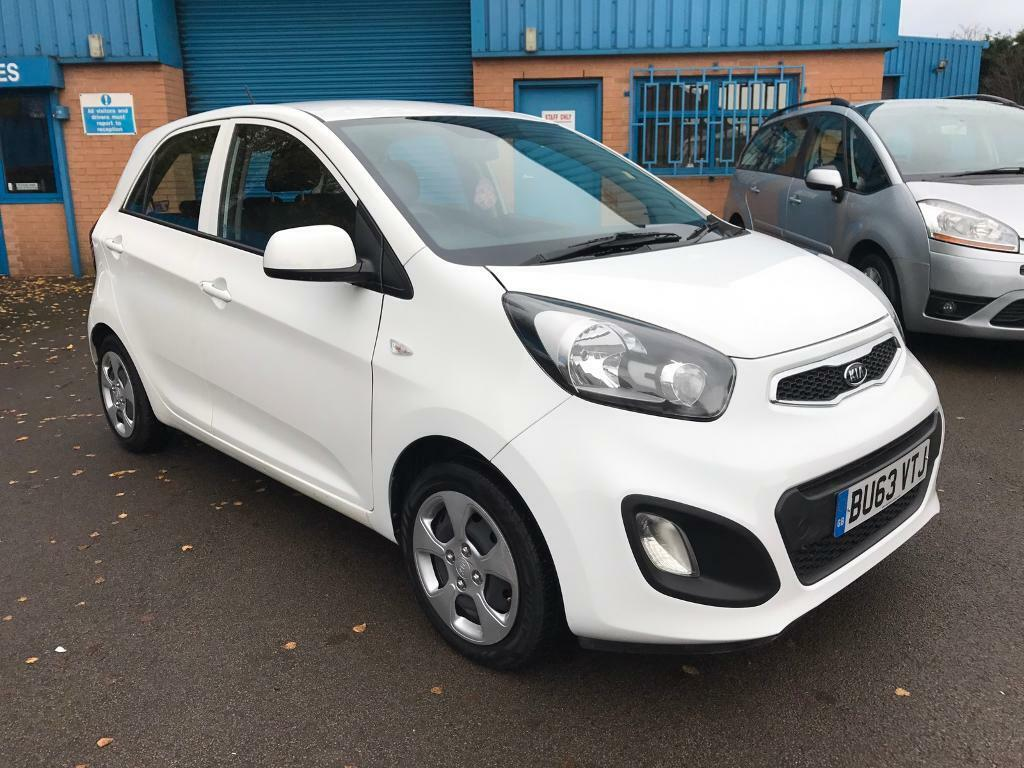 2013/63 KIA PICANTO 1.0 PETROL 5dr # GENUINE LOW 35,000 MILES # FREE ROAD