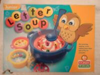 Letter Soup Learning Game