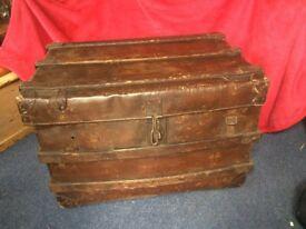 Large vintage trunk