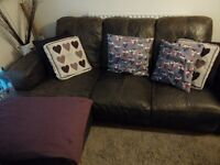 Fab condition sofa with chaise