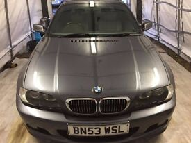 BMW e46 2.5L petrol manual